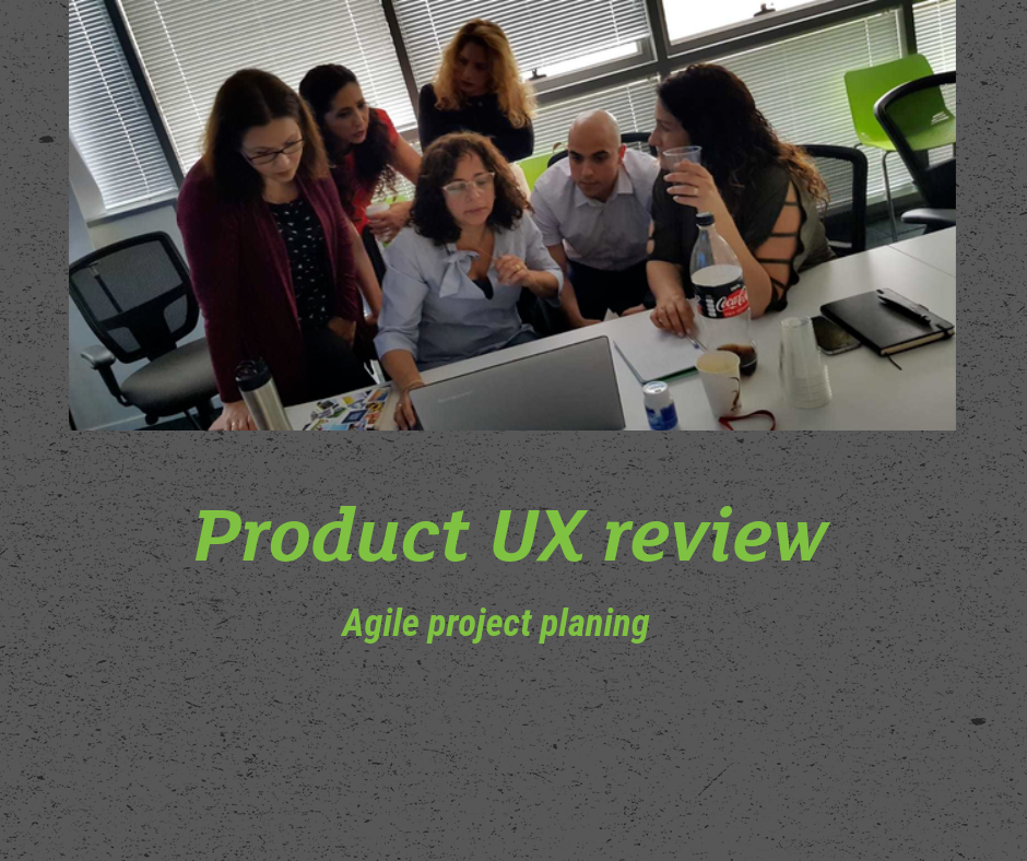 Product UX review