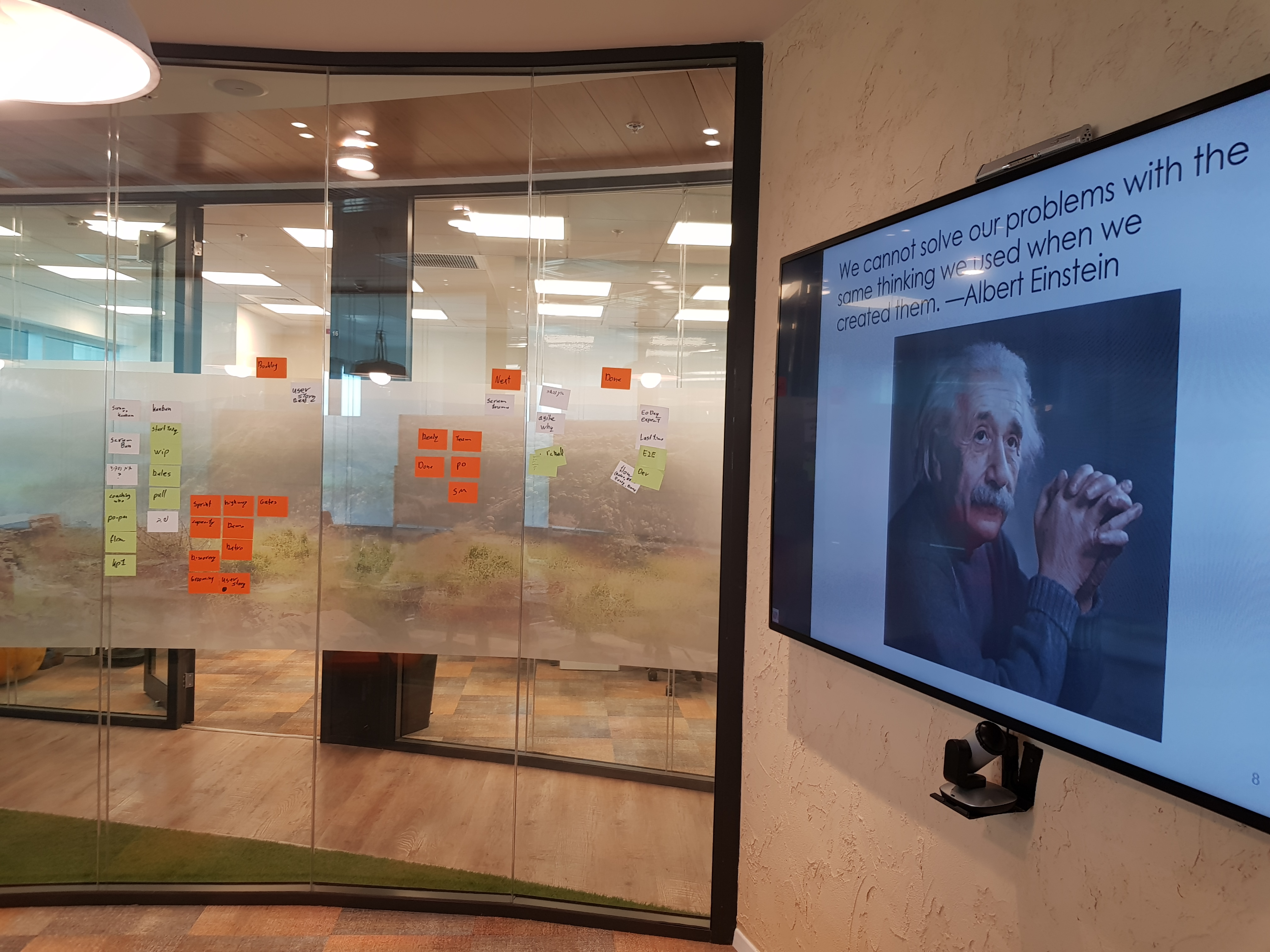Agile managers workshop