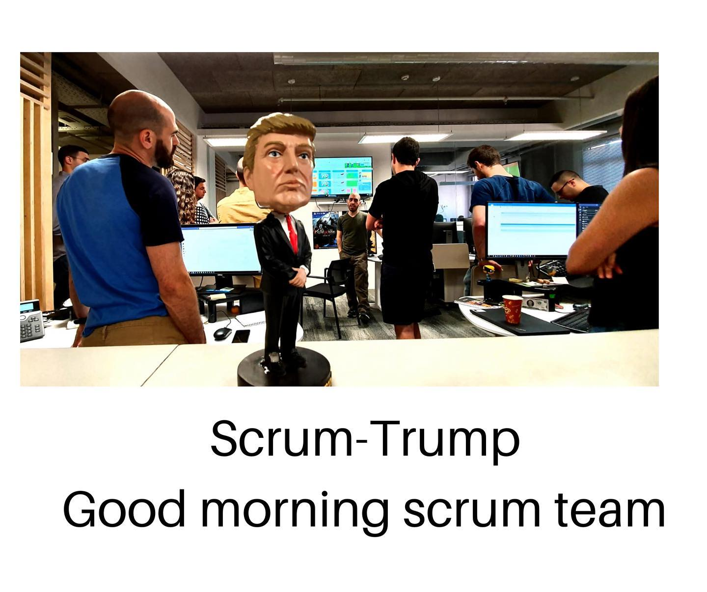 scrum trump Gallery