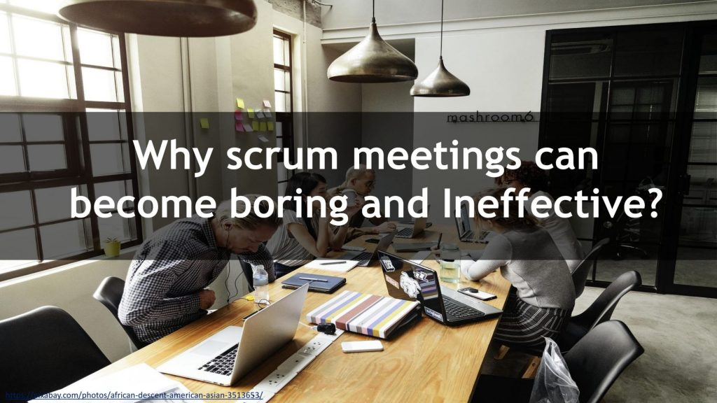 FIVERR BAD MEETINGS AFTER CHANGES 01 compressed 1024x576 Why scrum meetings can become boring and ineffective?