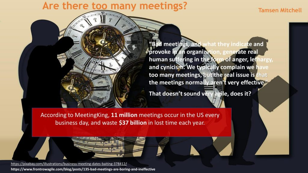 FIVERR BAD MEETINGS AFTER CHANGES 03 compressed 1024x576 Why scrum meetings can become boring and ineffective?