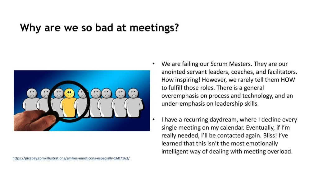 FIVERR BAD MEETINGS AFTER CHANGES 04 compressed 1024x576 Why scrum meetings can become boring and ineffective?