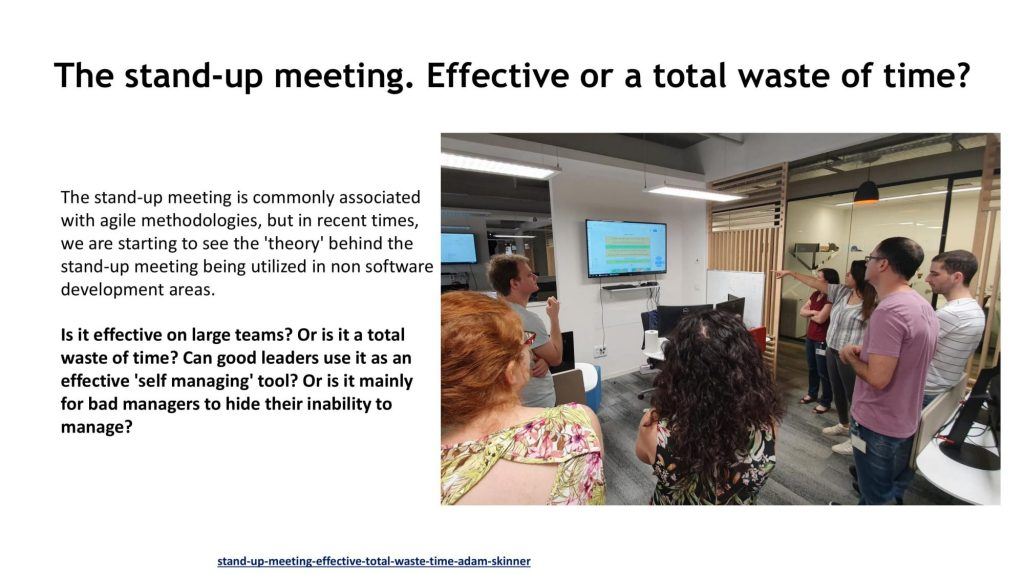 FIVERR BAD MEETINGS AFTER CHANGES 08 compressed 1024x576 Why scrum meetings can become boring and ineffective?