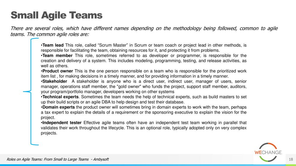 The role of the tech lead in agile 18 compressed Whats the role of the tech lead in agile?