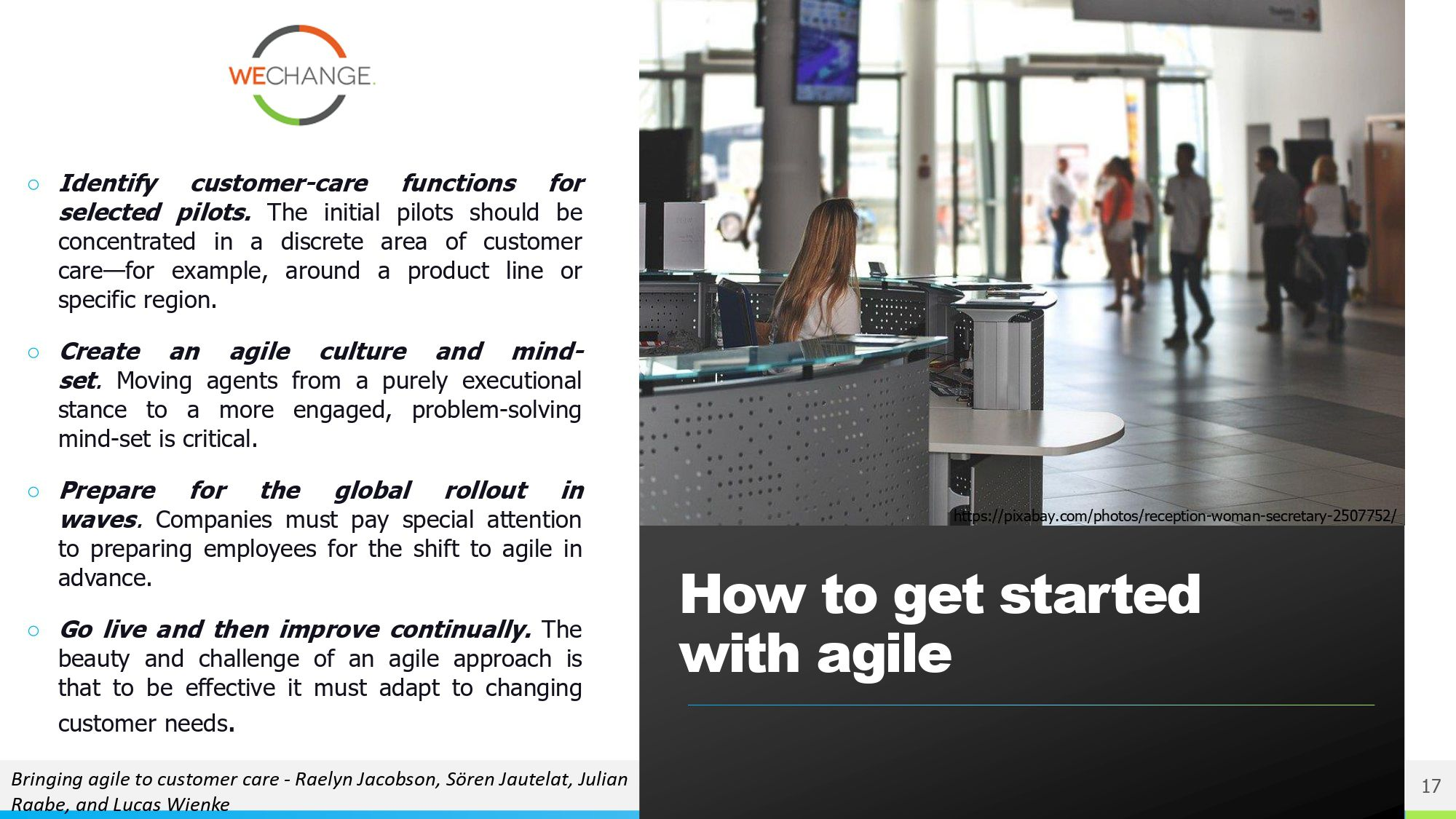 Operations agility page 0013 compressed Being & Doing Agile in Customer oriented care and Operations Organizations