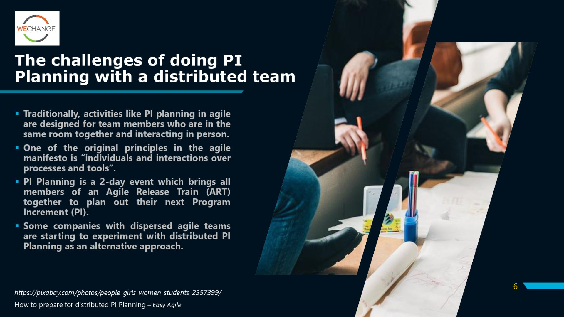 PI PlanningV2 page 0006 compressed Working from home ? Overcoming remote challenges of PI planning #SAFe