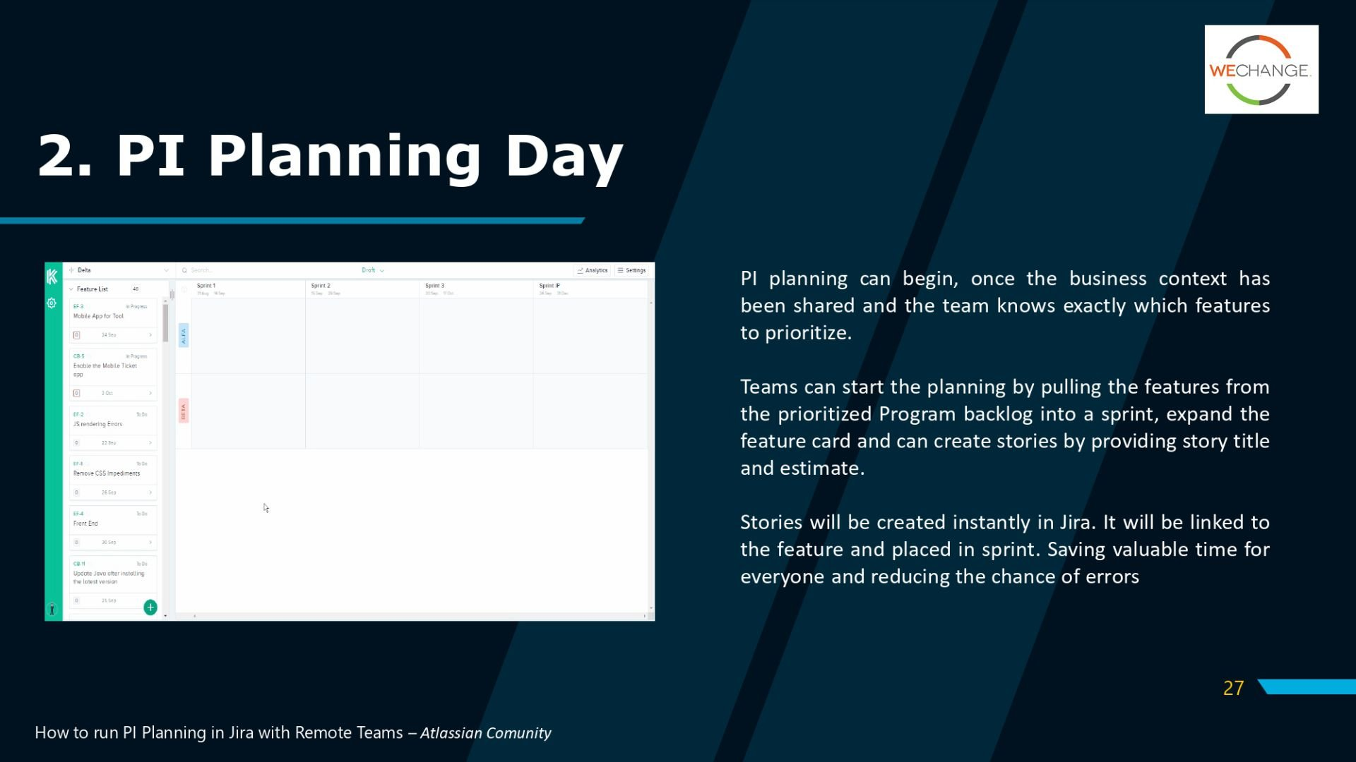 PI PlanningV2 page 0027 compressed Working from home ? Overcoming remote challenges of PI planning #SAFe