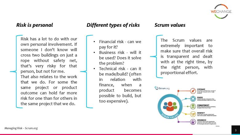 project risks 3 page 003 compressed How to manage project risks in agile?