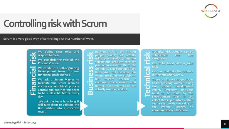 project risks 3 page 008 compressed How to manage project risks in agile?