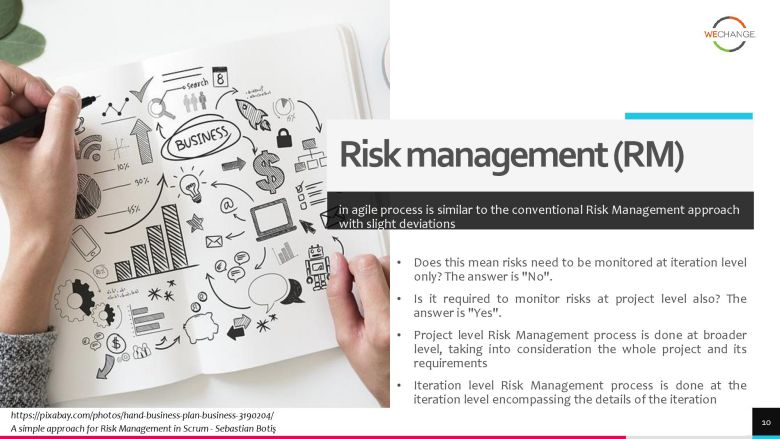 project risks 3 page 010 compressed How to manage project risks in agile?
