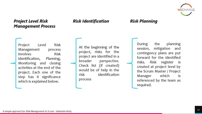project risks 3 page 012 compressed How to manage project risks in agile?