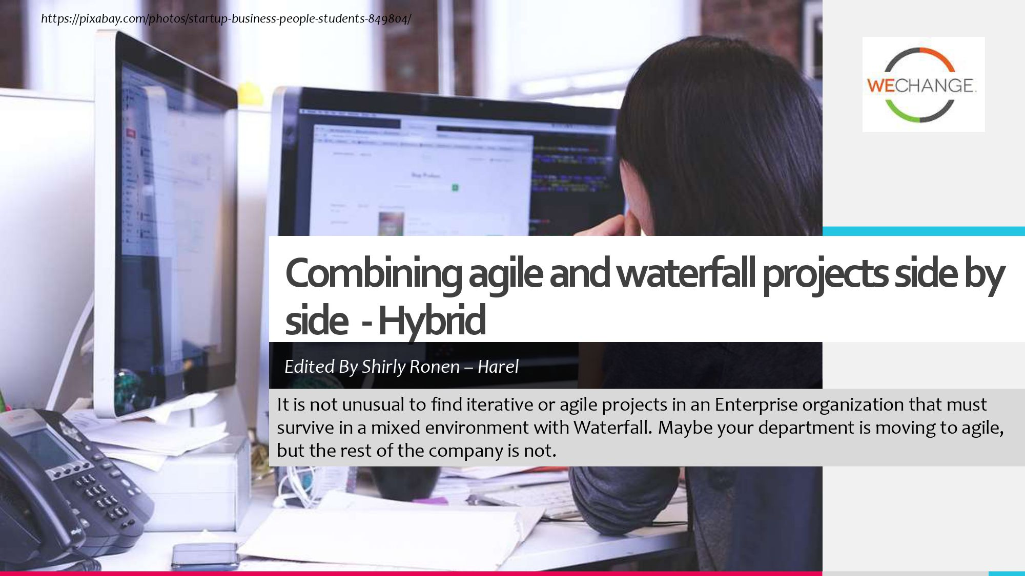 Hybrid – combining agile and waterfall projects side by side  1 page 0001 compressed Combining agile and waterfall projects side by side? Howto