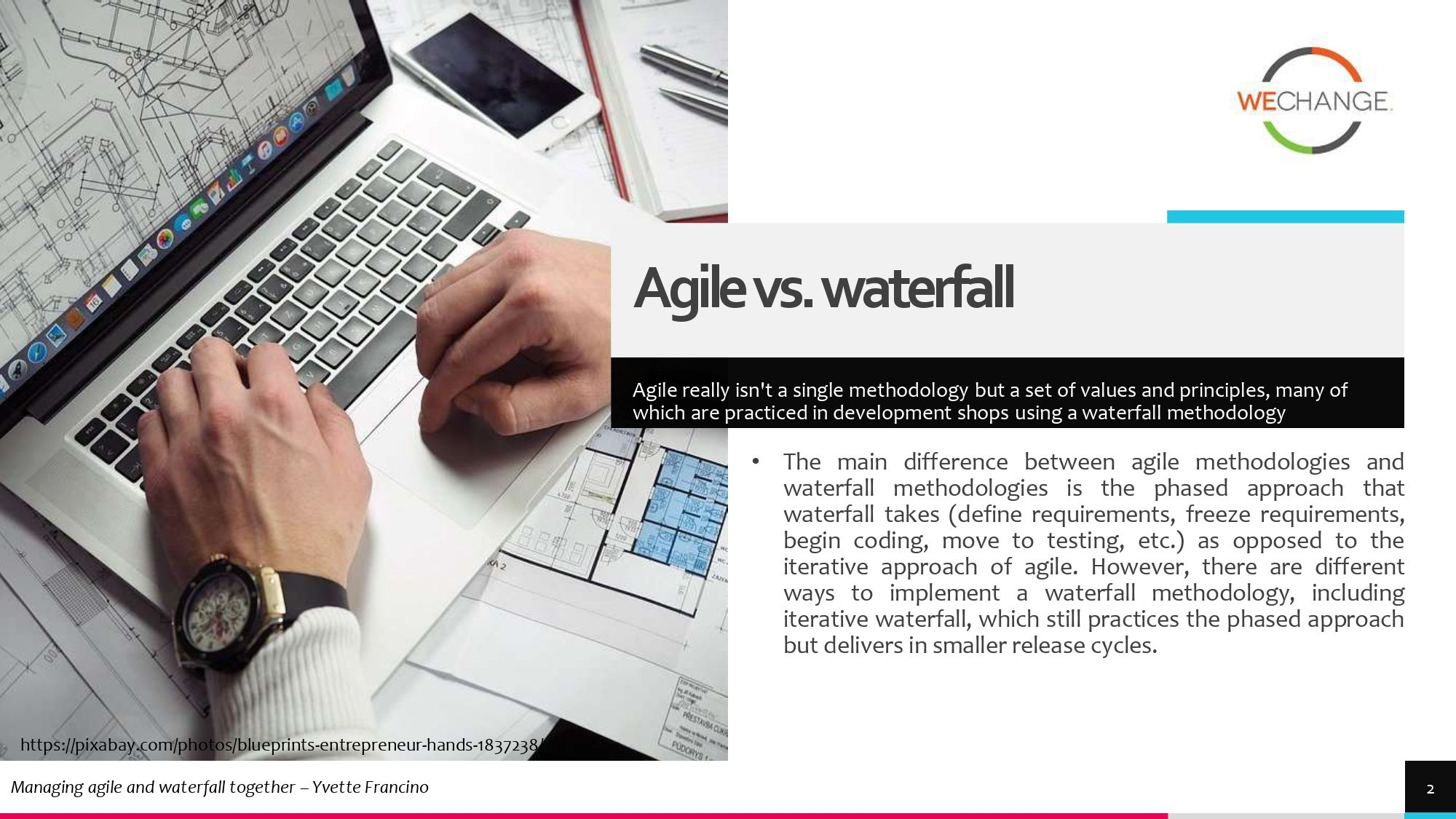 Hybrid – combining agile and waterfall projects side by side  1 page 0002 compressed Combining agile and waterfall projects side by side? Howto