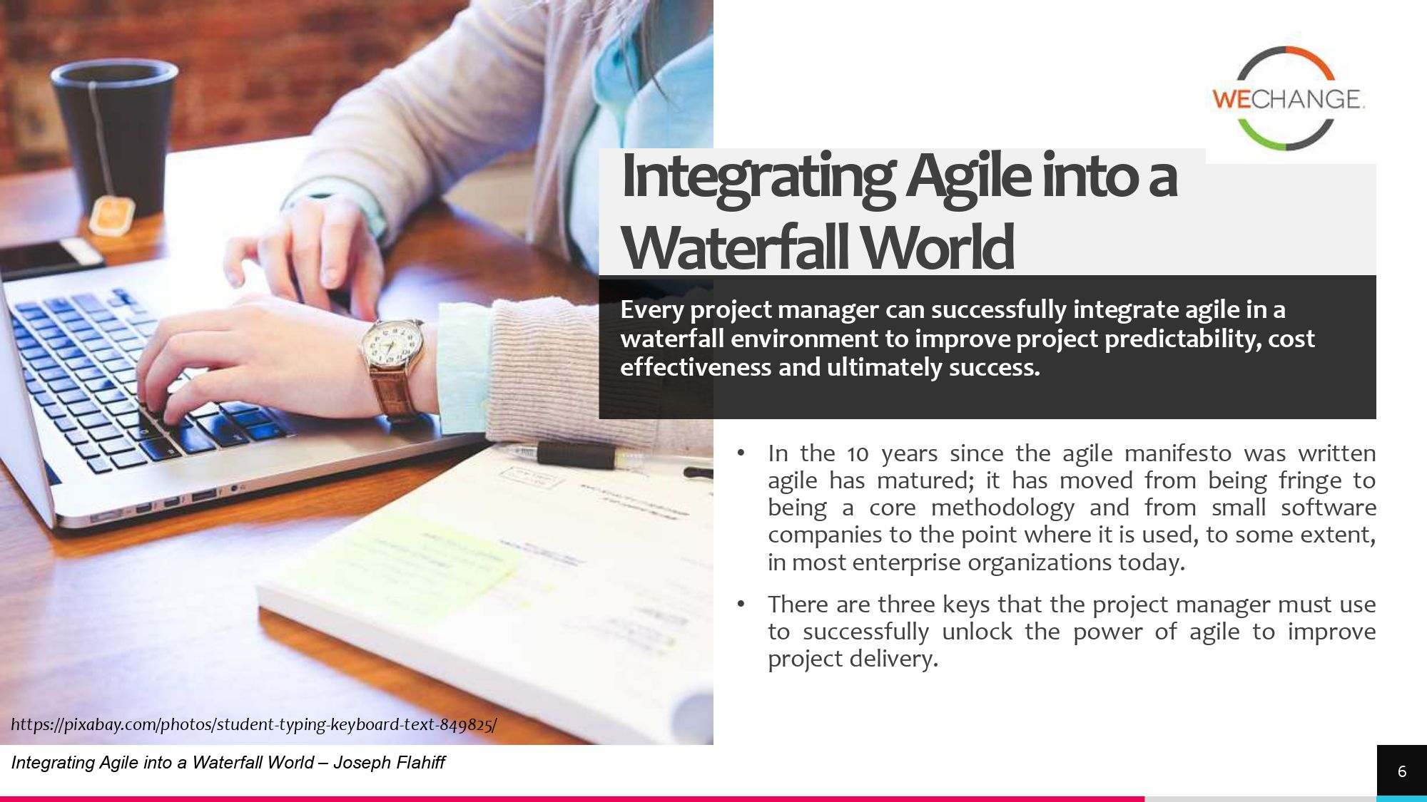 Hybrid – combining agile and waterfall projects side by side  1 page 0006 compressed Combining agile and waterfall projects side by side? Howto
