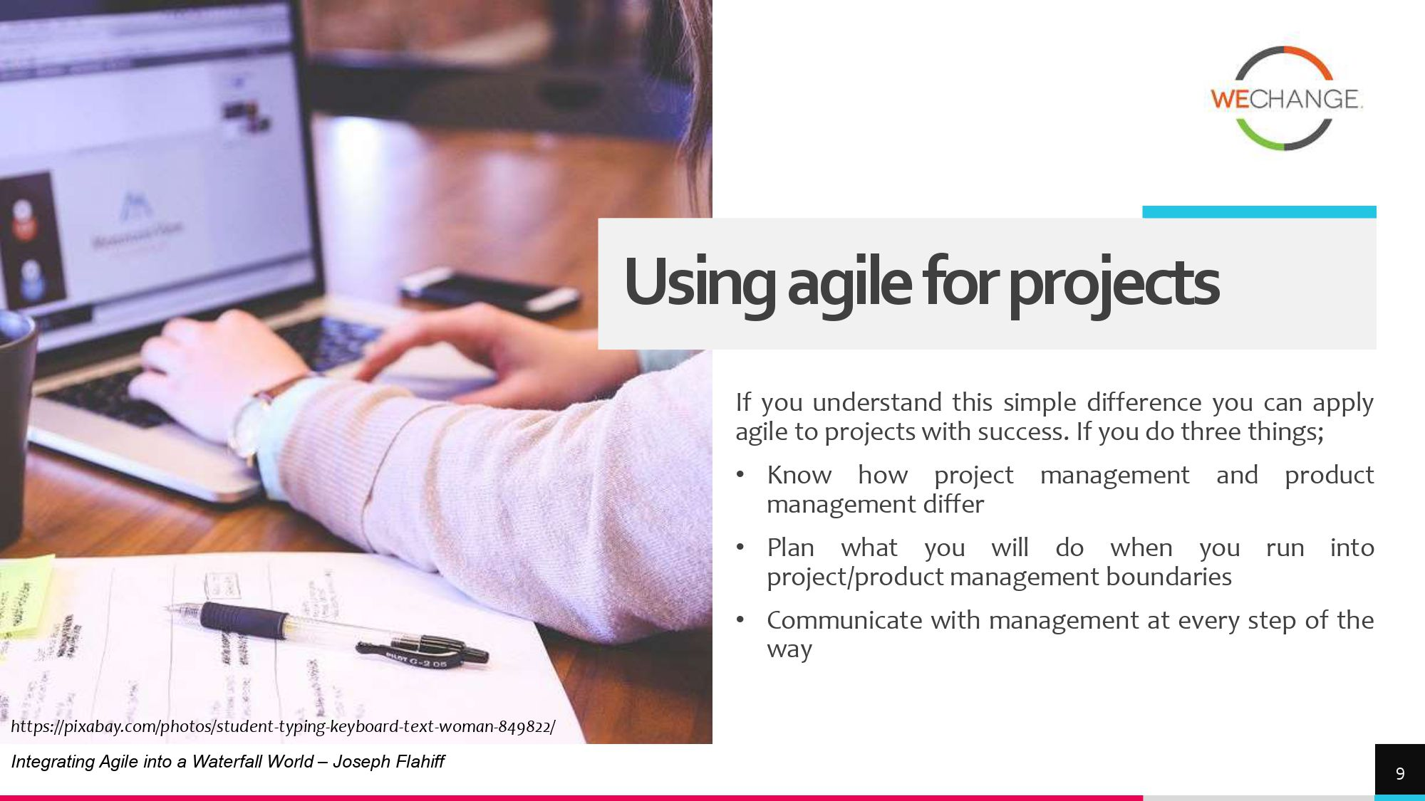 Hybrid – combining agile and waterfall projects side by side  1 page 0008 compressed Combining agile and waterfall projects side by side? Howto