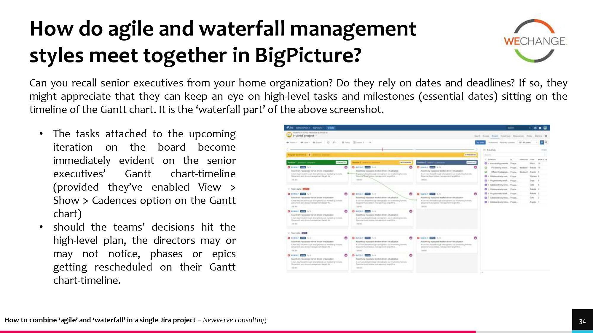 Hybrid – combining agile and waterfall projects side by side  1 page 0027 compressed Combining agile and waterfall projects side by side? Howto