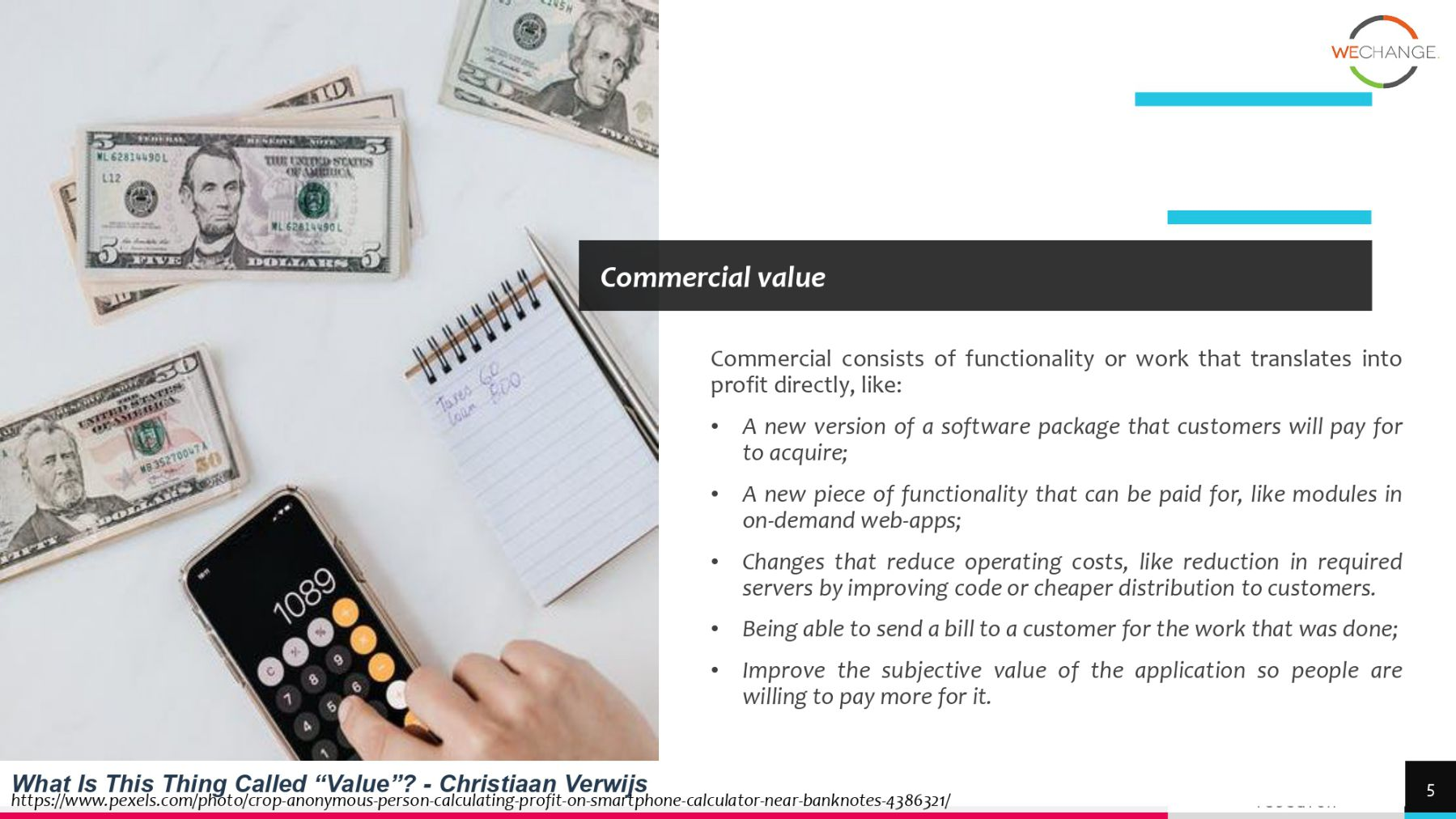 What is the story of the 'value  page 0005 compressed What is the story of the ' value' when writing requirements?